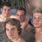 Broke College Boys: Max, CJ, Lucky and Blake
